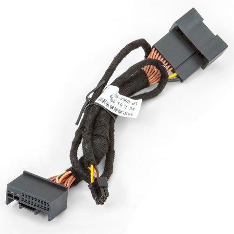 Адаптер подключения камеры заднего и переднего вида для Audi A4/A5/Q3/Q5 без системы MMI Превью 5