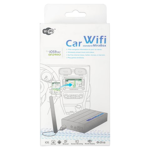 Smartphone/iPhone Wi-Fi Mirroring Car Adapter (with RGBs Output) Preview 6