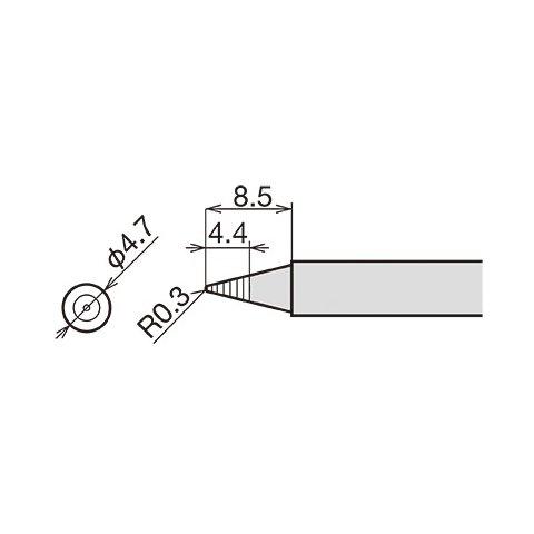 Паяльне жало Goot RX-80HRT-BM Прев'ю 1