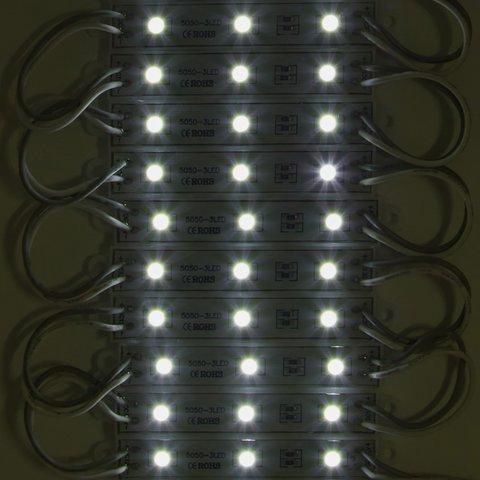 Світлодіодний модуль-стрічка SMD 5050, 20 шт. по 3 світлодіоди (білий, самоклеючий, 1200 лм, 12 В, IP65) Прев'ю 1