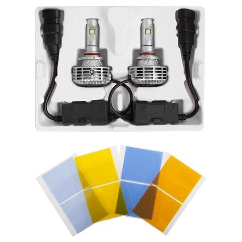 Набір світлодіодного головного світла UP-6HL (9005 (HB3), 3000 лм, сумісний з CAN-шиною) Прев'ю 1