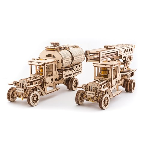 Mechanical 3D Puzzle UGEARS Additions for Truck UGM-11