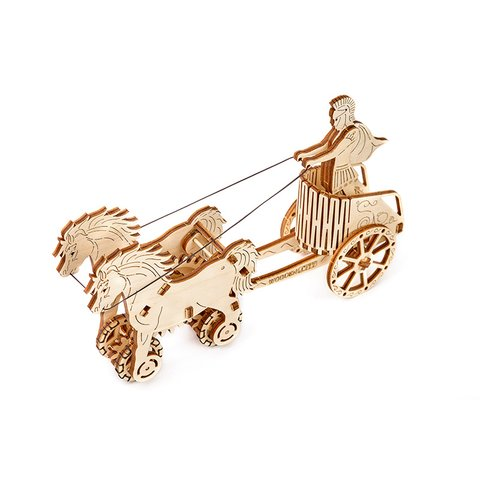 Механічний 3D-пазл Wooden.City Римська колісниця - /*Photo|product*/
