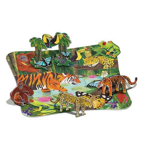 3D-пазл 4M Тропический лес 00-04678 Превью 2